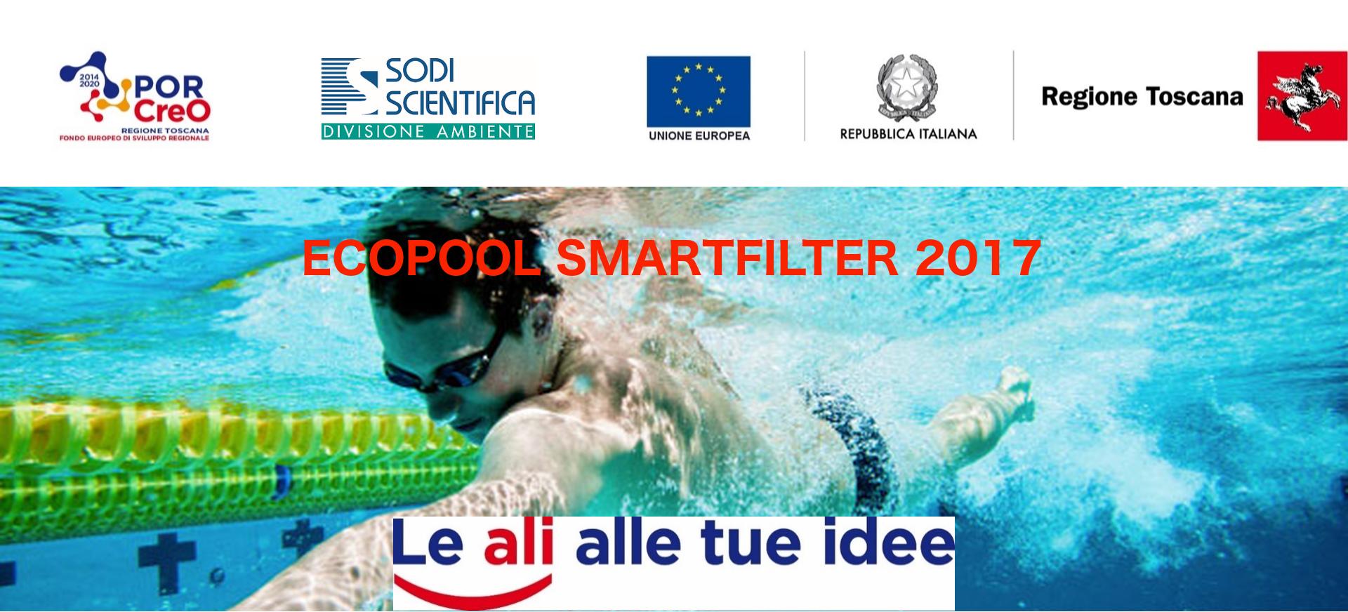 Banner Finale Progetto Ecopool Smart Filter 2017