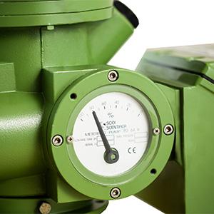 pompa dosatrice a membrana meccanica indicatore
